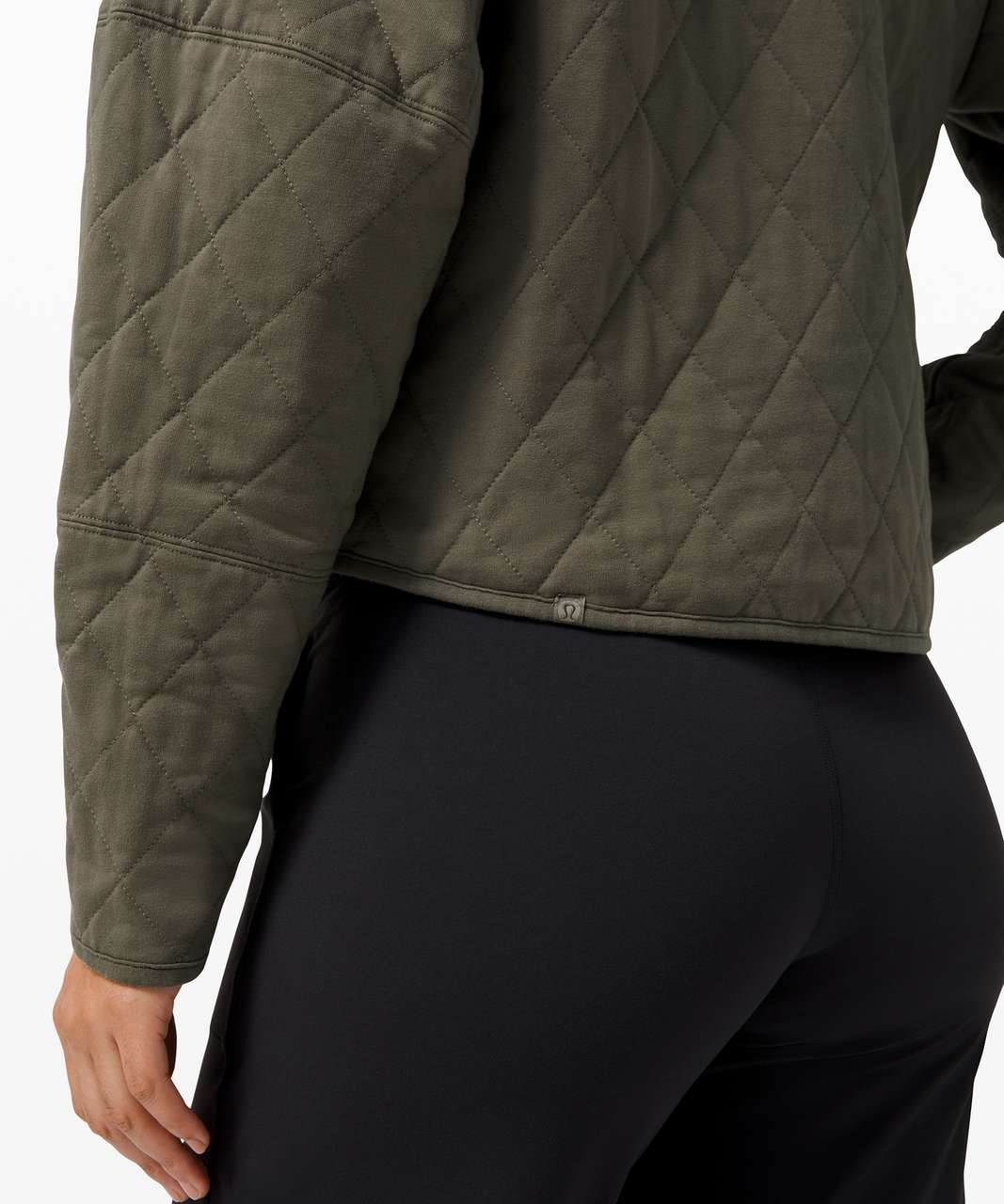 Lululemon Quilted Calm Jacket - Army Green