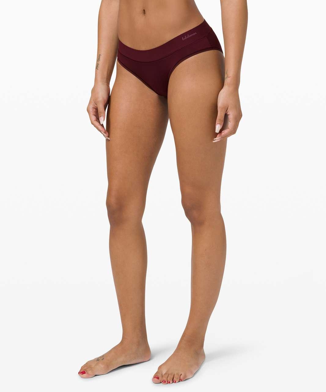 Lululemon Soft Breathable Bikini - Garnet