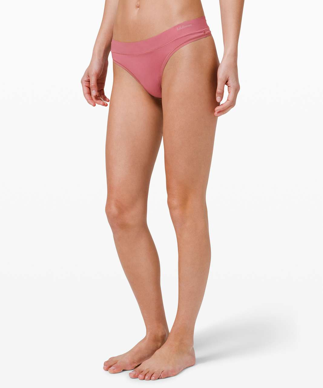 Lululemon Soft Breathable Thong *3 Pack - Incognito Camo Multi Grey / Brier Rose / Chrome