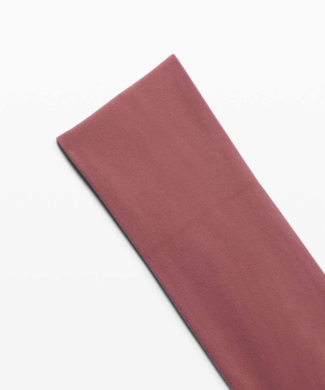 Lululemon Fringe Fighter Headband - Pink Pastel / Ancient Copper