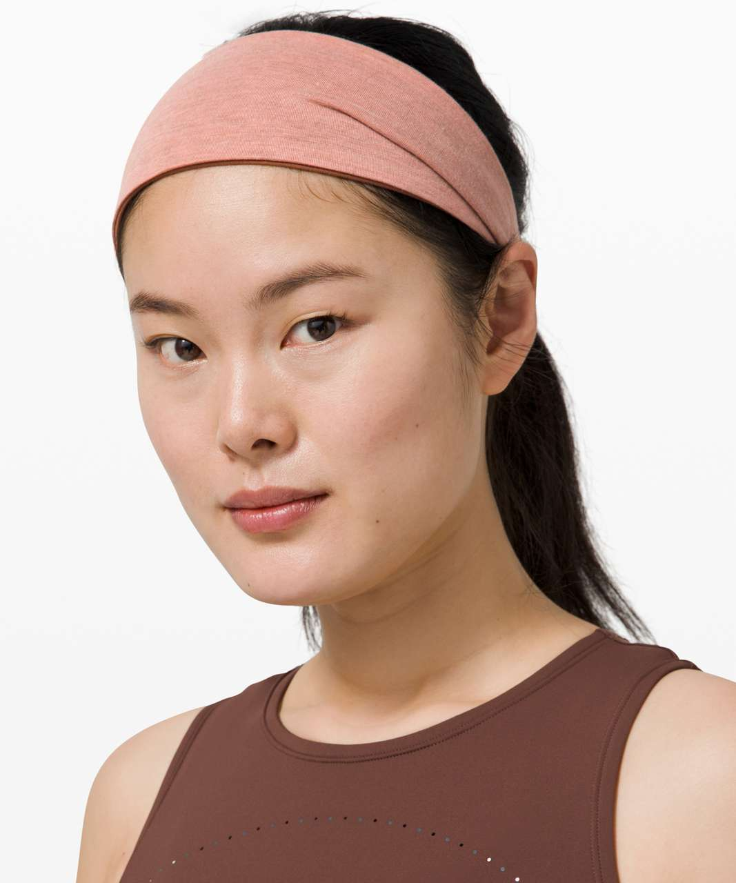 Lululemon Fringe Fighter Headband - Pink Pastel / Ancient Copper