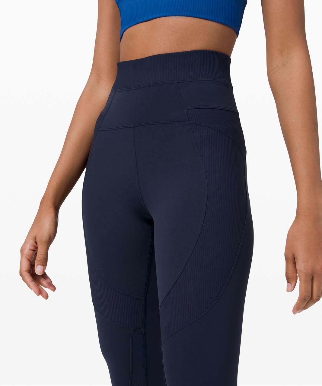 "Lululemon New Ambition Super High-Rise Tight 25"" - True Navy"