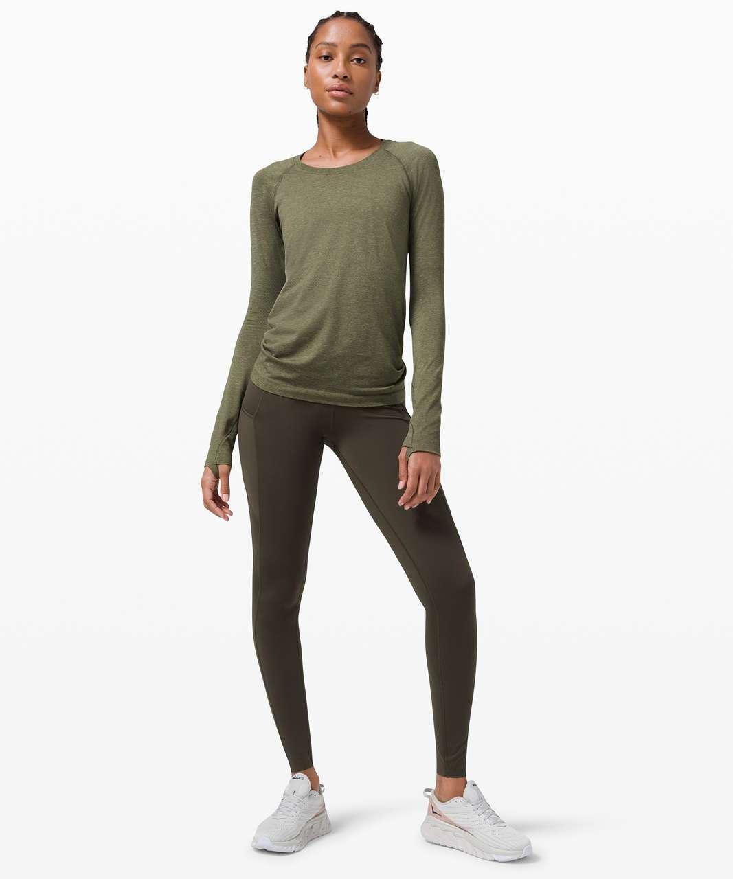 Lululemon Swiftly Tech Long Sleeve 2.0 - Willow Green / Army Green