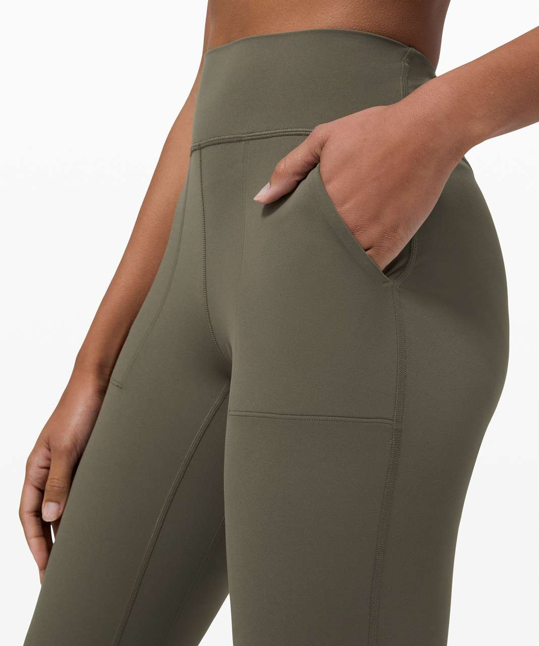 "Lululemon Align Jogger Crop *23"" - Army Green"