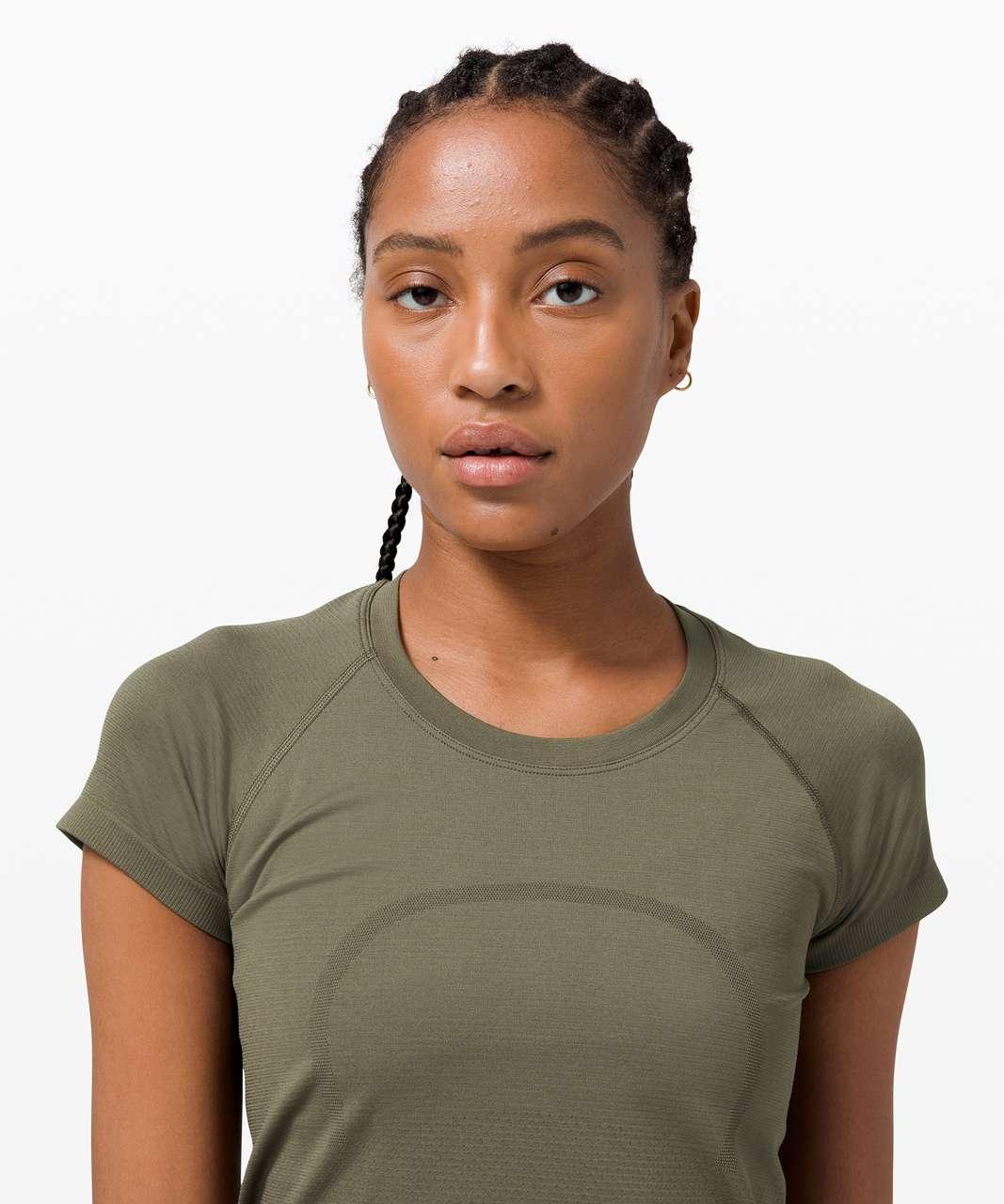 Lululemon Swiftly Tech Short Sleeve 2.0 *Race Length - Army Green / Army Green