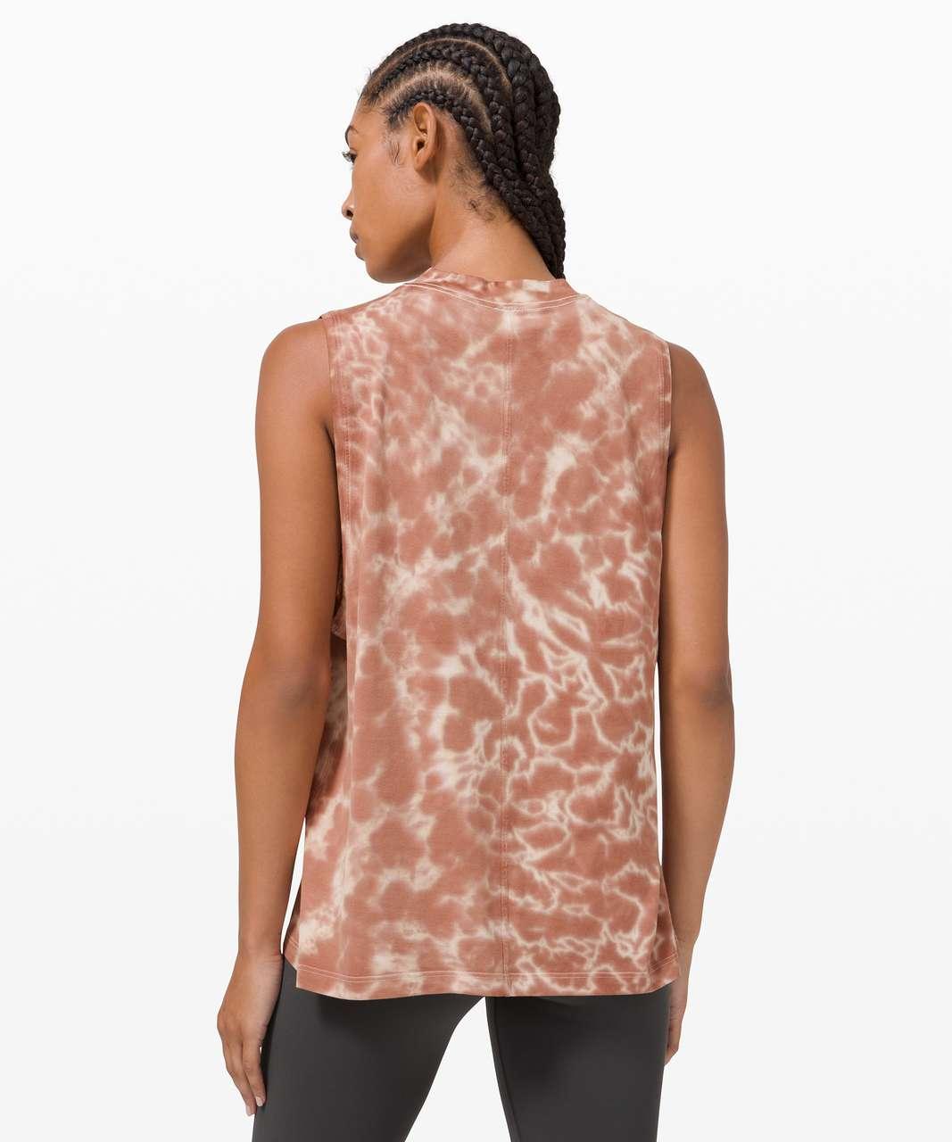 Lululemon All Yours Tank *Tie Dye - Marmoleado Tie Dye Ancient Copper