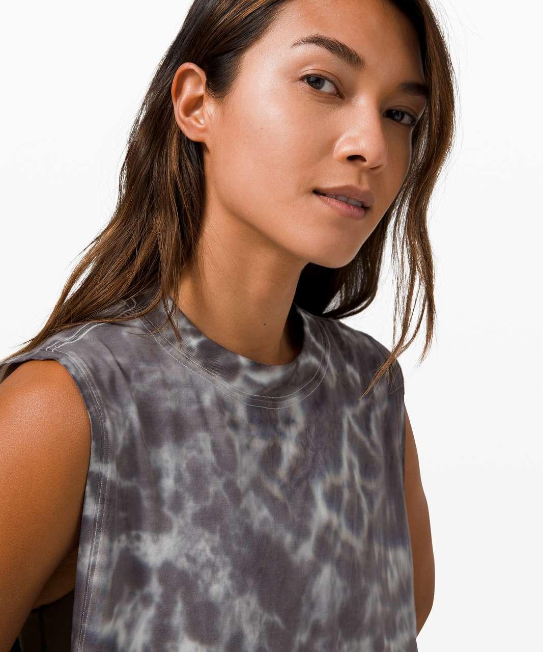 Lululemon All Yours Tank *Tie Dye - Marmoleado Tie Dye Graphite Grey
