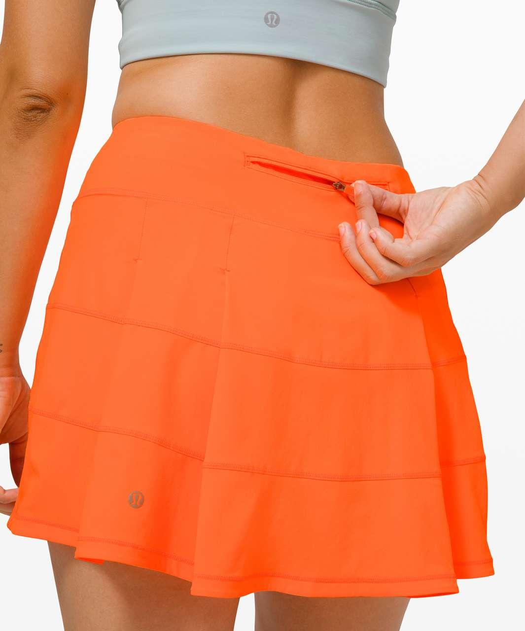 "Lululemon Pace Rival Skirt (Tall) *4-way Stretch 15"" - Highlight Orange"