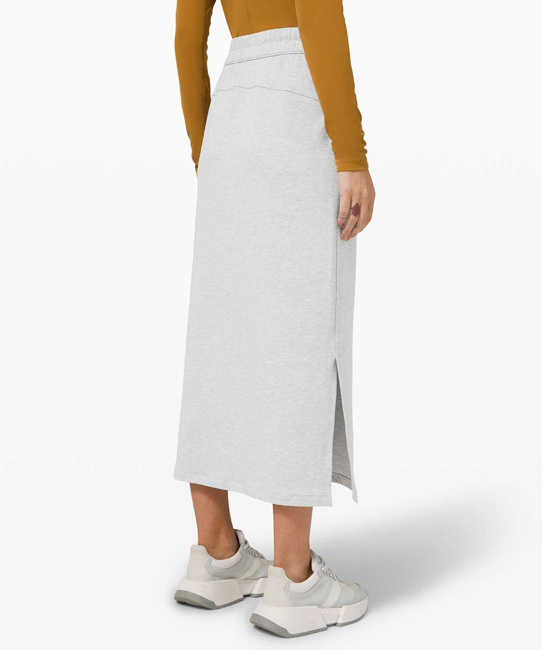 Lululemon Bound to Bliss Skirt - Heathered Core Ultra Light Grey