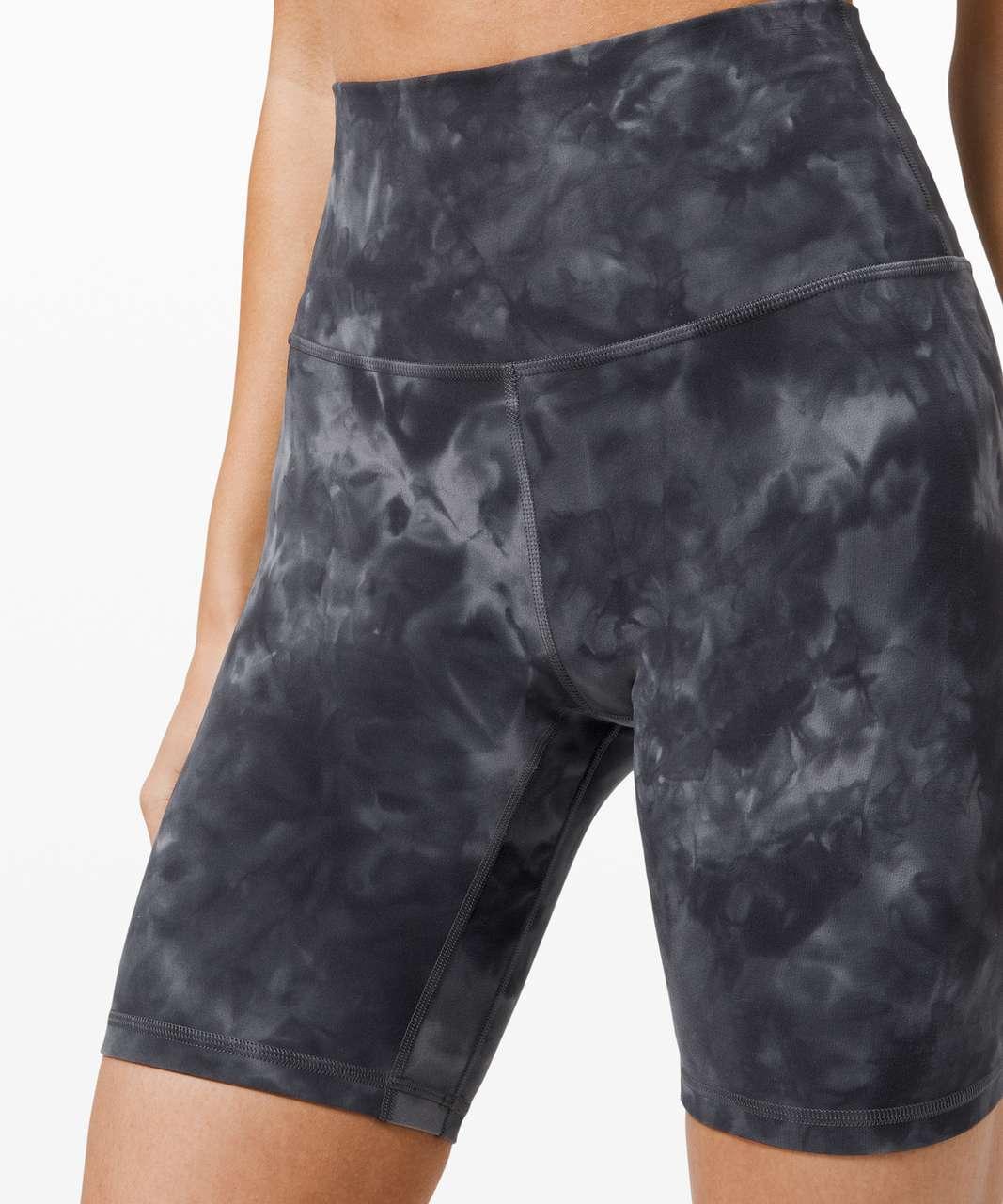 "Lululemon Align Short 8"" *Diamond Dye - Diamond Dye Pitch Grey Graphite Grey"