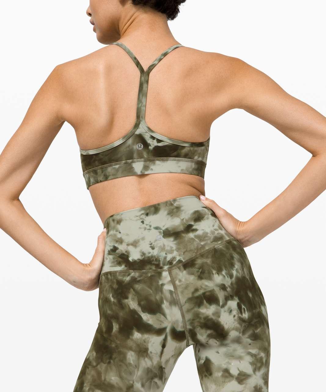"Lululemon Align Short 8"" *Diamond Dye - Diamond Dye Light Sage Army Green Dark Olive"
