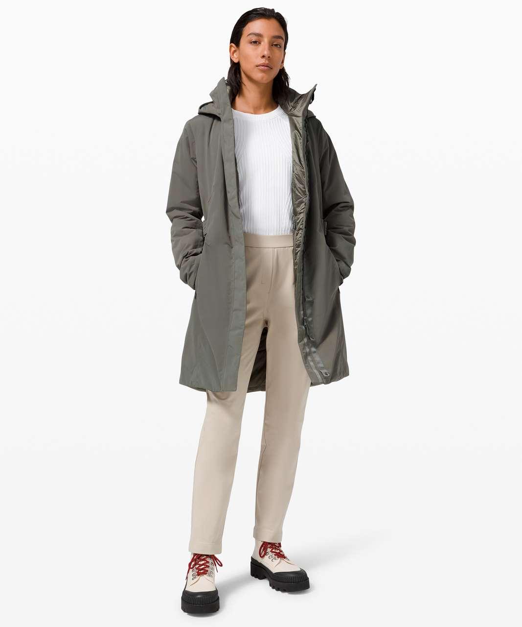 Lululemon Apres It All Jacket - Grey Sage