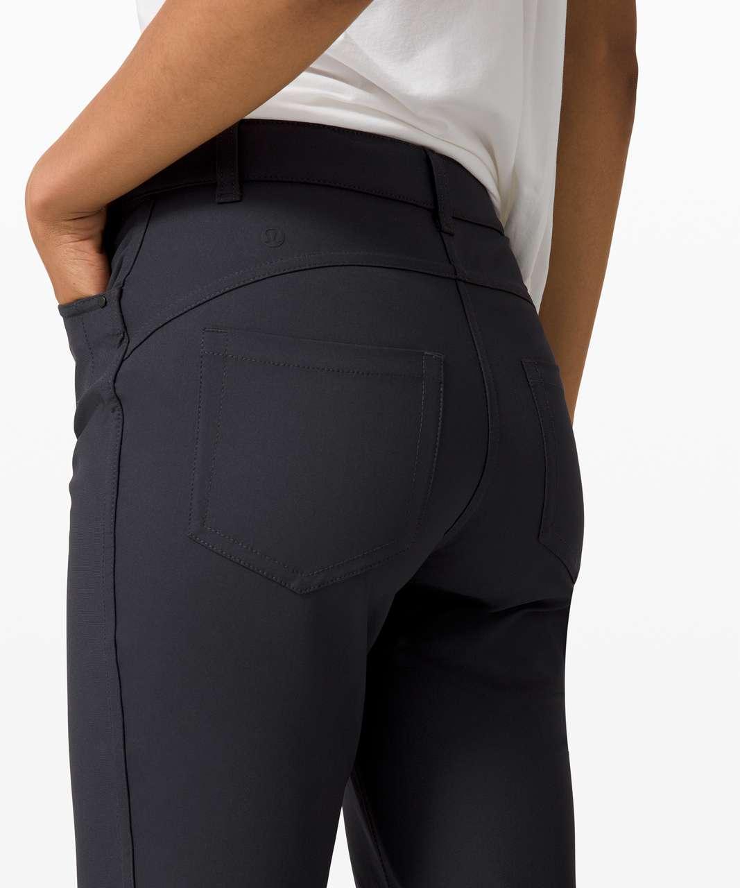 Lululemon City Sleek 5 Pocket 7/8 Pant - Obsidian
