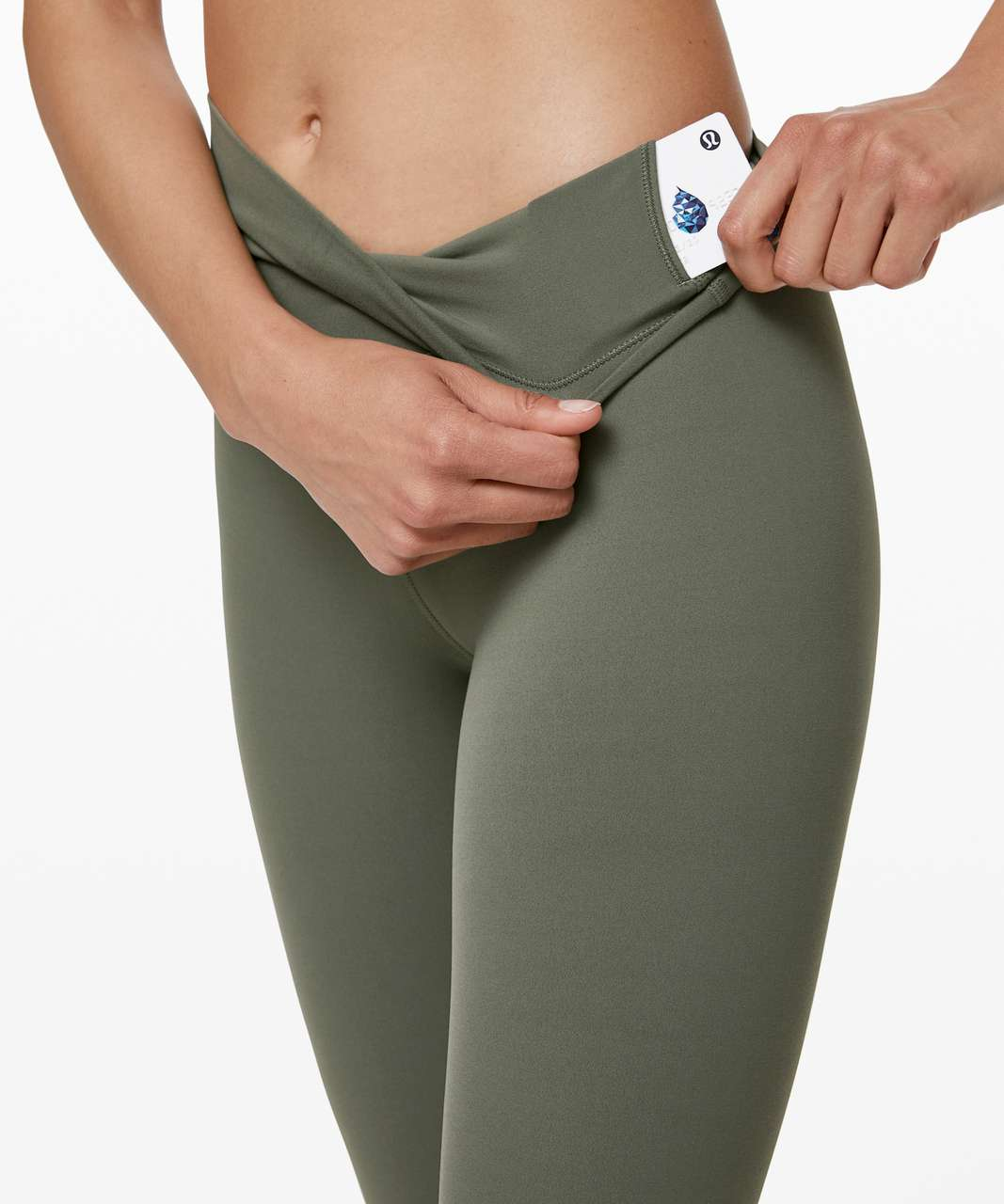 "Lululemon Align Pant 28"" - Grey Sage"