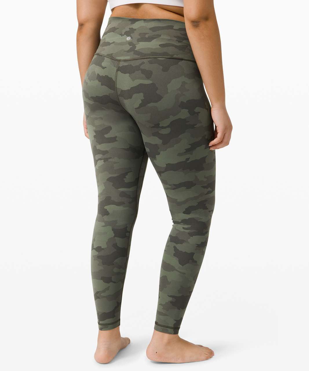 "Lululemon Align Pant 28"" - Heritage 365 Camo Green Twill Multi"