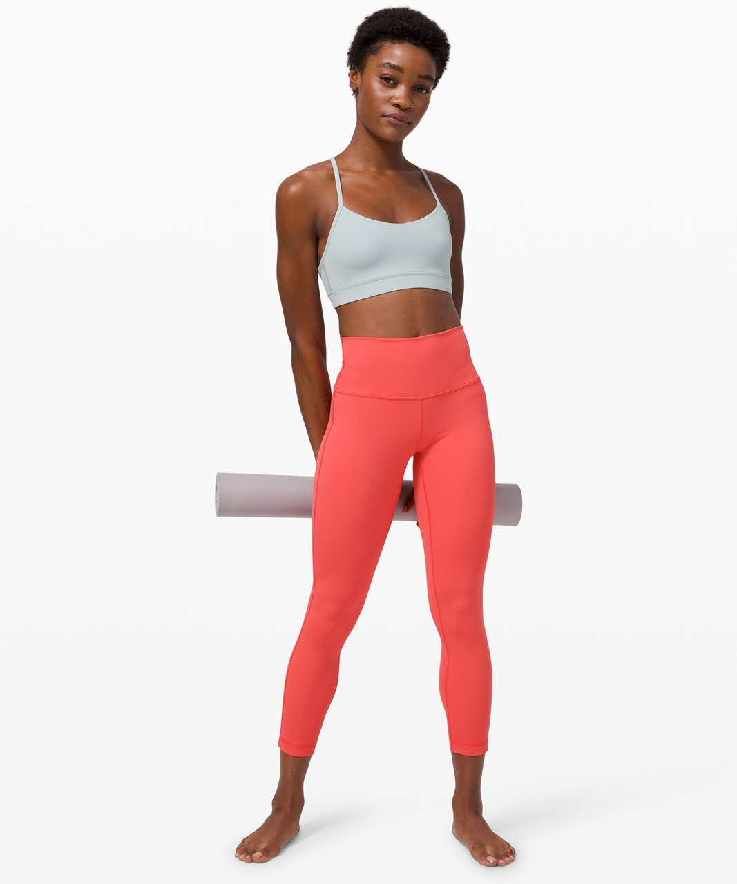 """Lululemon Wunder Under High-Rise 7/8 Tight *Luxtreme 25"""" - Watermelon Red"""