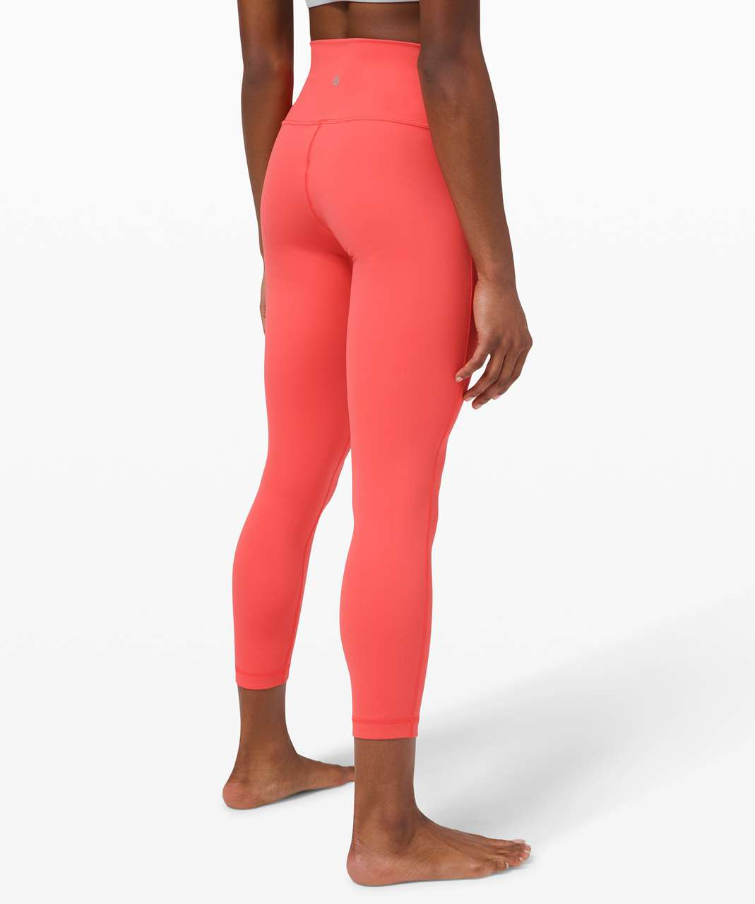 "Lululemon Wunder Under High-Rise 7/8 Tight *Luxtreme 25"" - Watermelon Red"