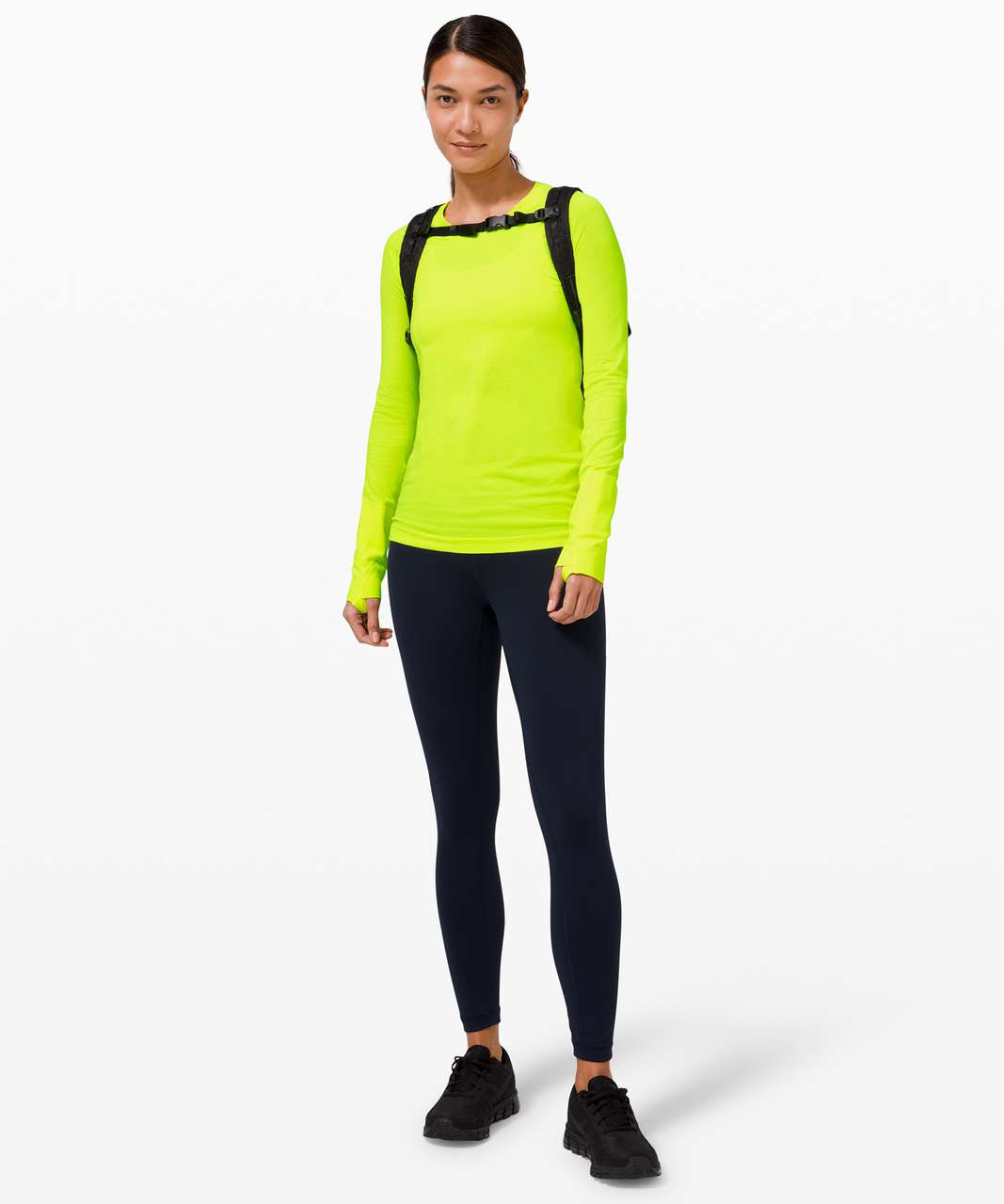 Lululemon Swiftly Tech Long Sleeve 2.0 - Highlight Yellow / Highlight Yellow
