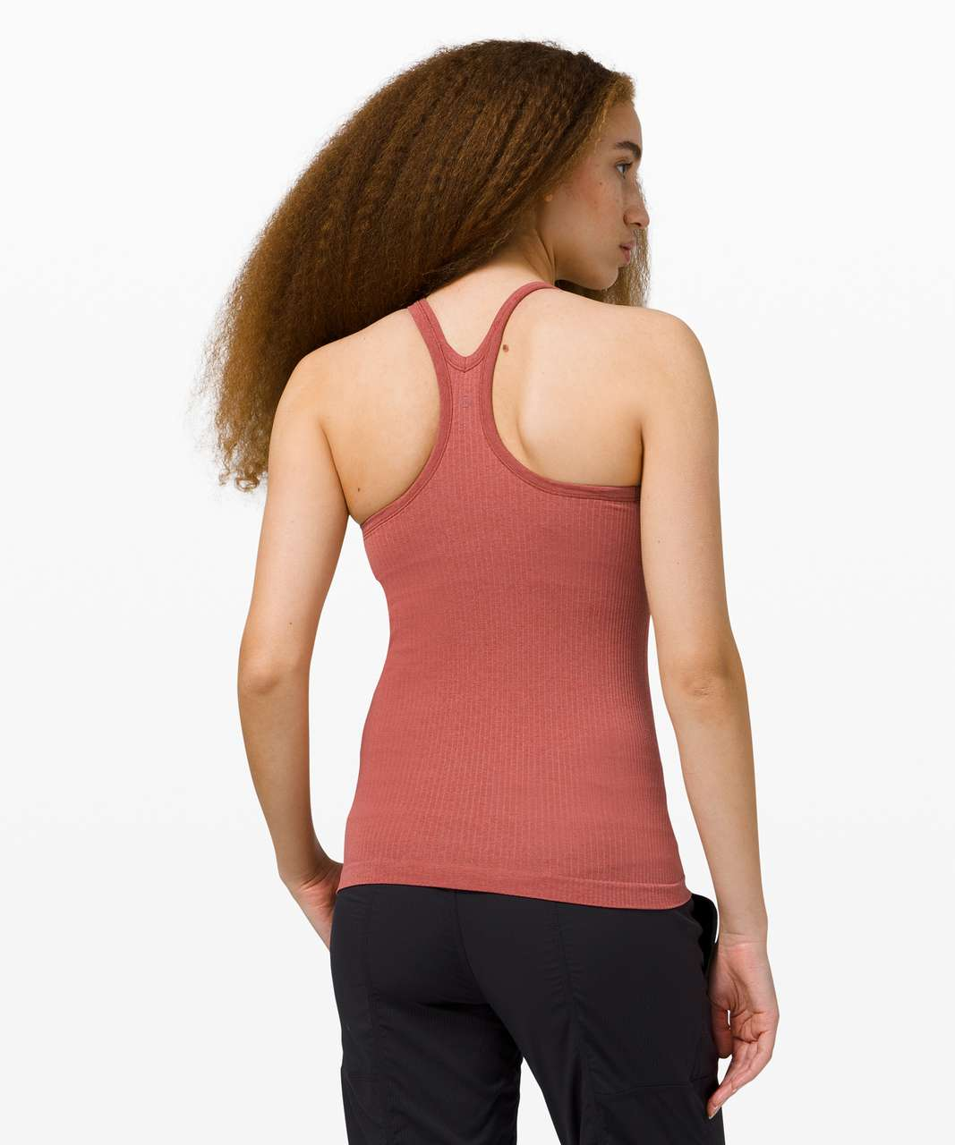 Lululemon Ebb To Street Tank *Light Support For B/C Cup - Soft Cranberry