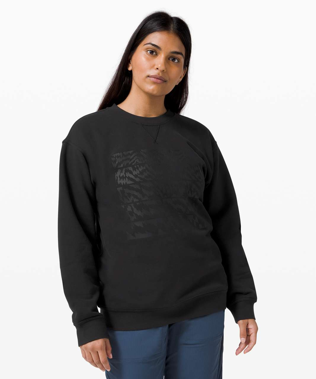 Lululemon All Yours Crew *Graphic - Black