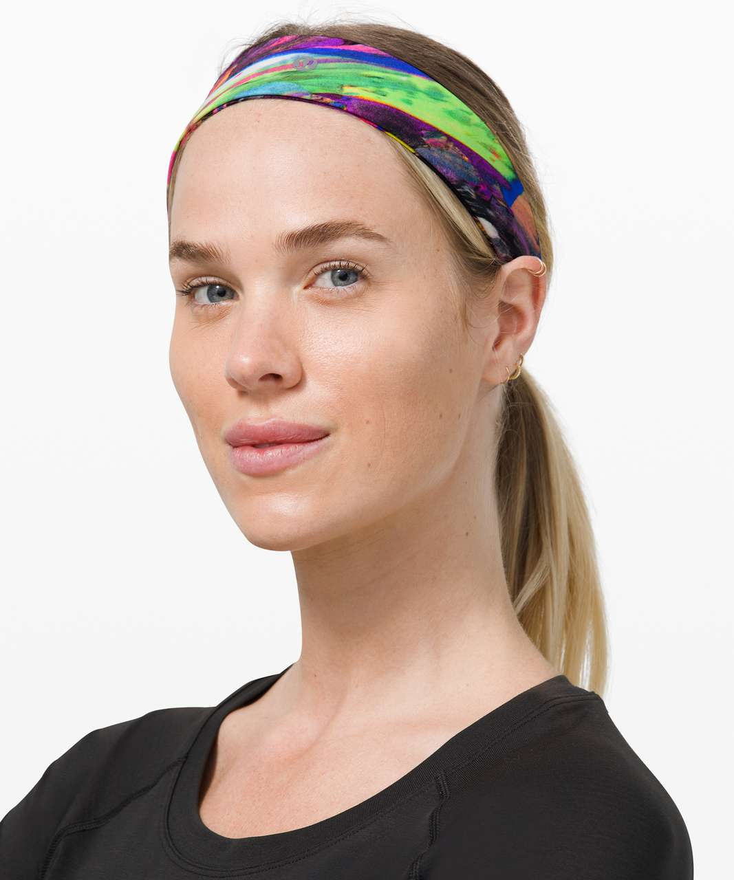 Lululemon Fly Away Tamer Headband II *Luxtreme - Catalyst Multi
