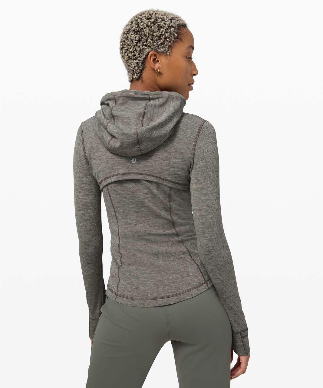 Lululemon Hooded Define Jacket *Nulu - Heathered Army Green