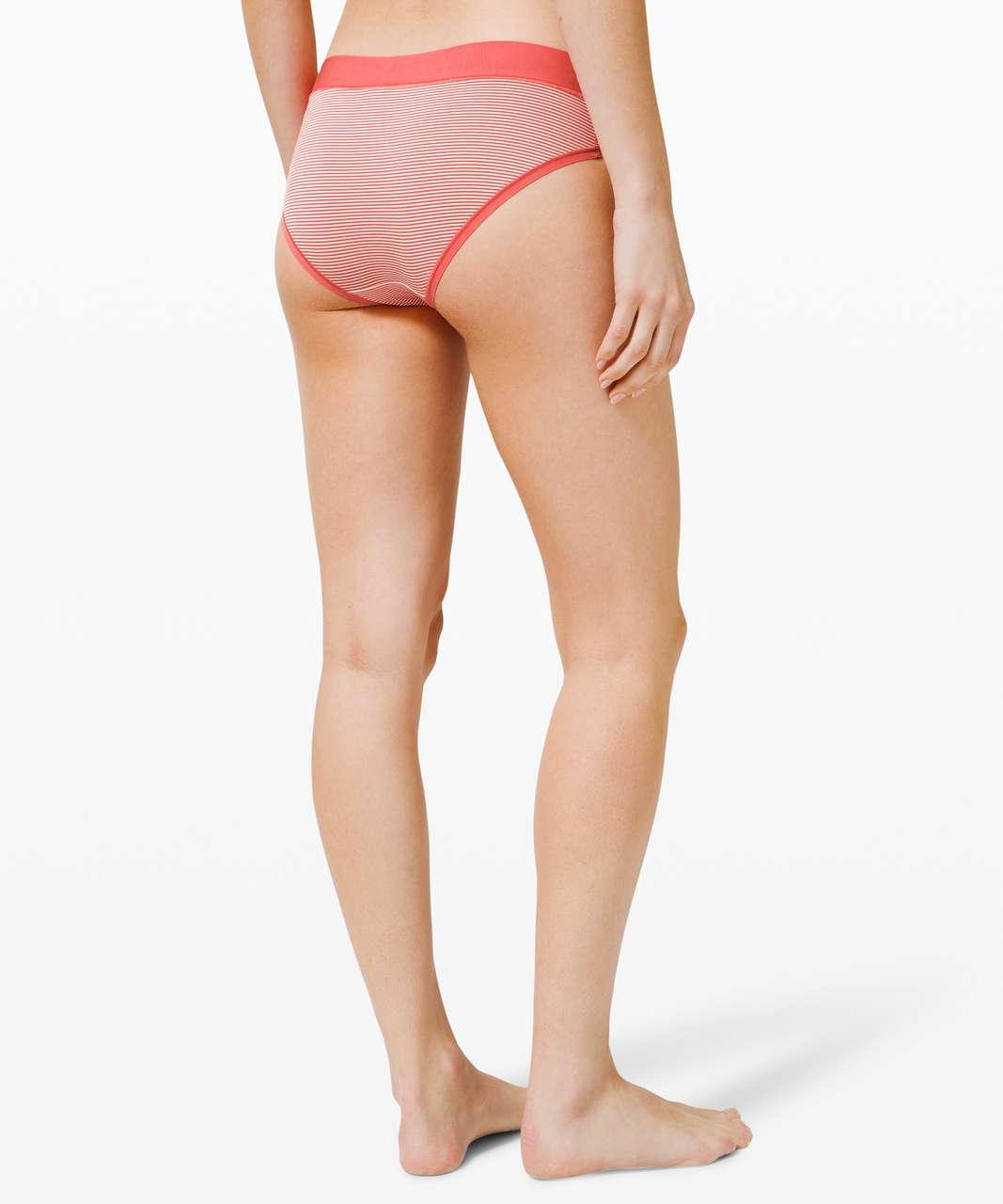 Lululemon Soft Breathable Bikini - Blush Coral