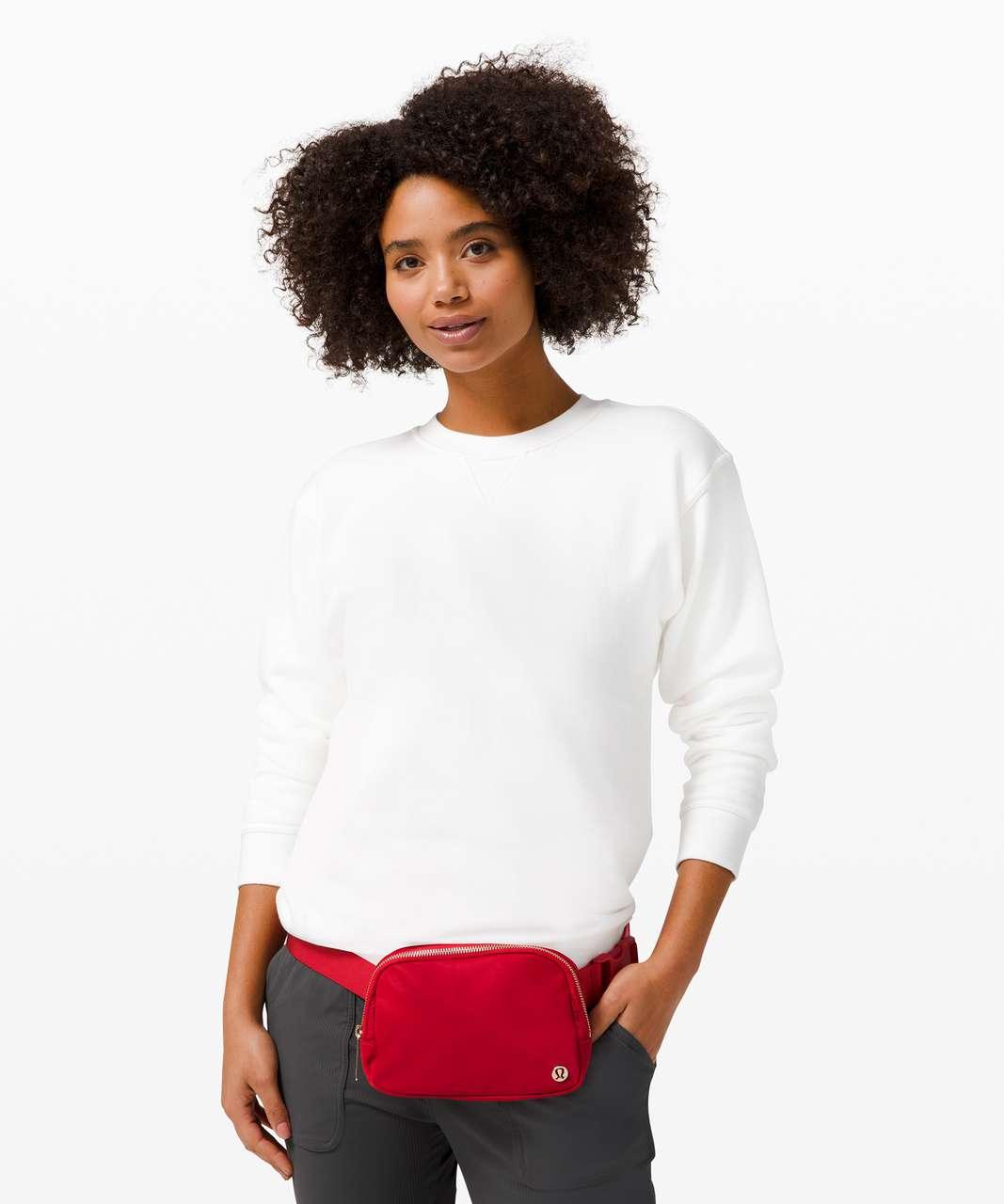 Lululemon Everywhere Belt Bag *1L - Dark Red