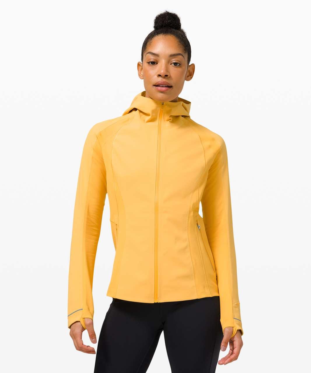 Lululemon Cross Chill Jacket - Wheat Yellow