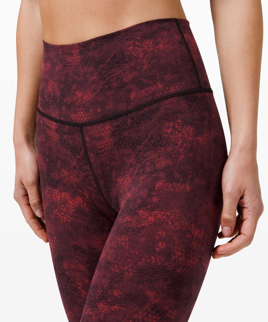 """Lululemon Wunder Under High-Rise Tight 25"""" Full-On Luxtreme *Lunar New Year - Intricate Oasis Multi"""