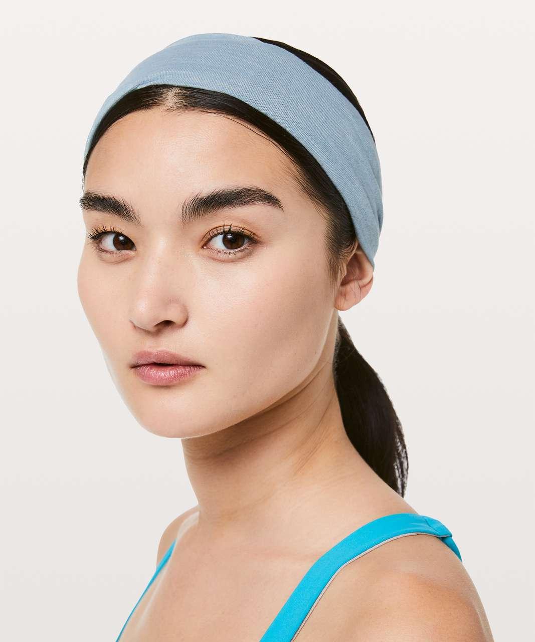 Lululemon Fringe Fighter Headband - Heathered Blue Cast / Heathered Utility Blue
