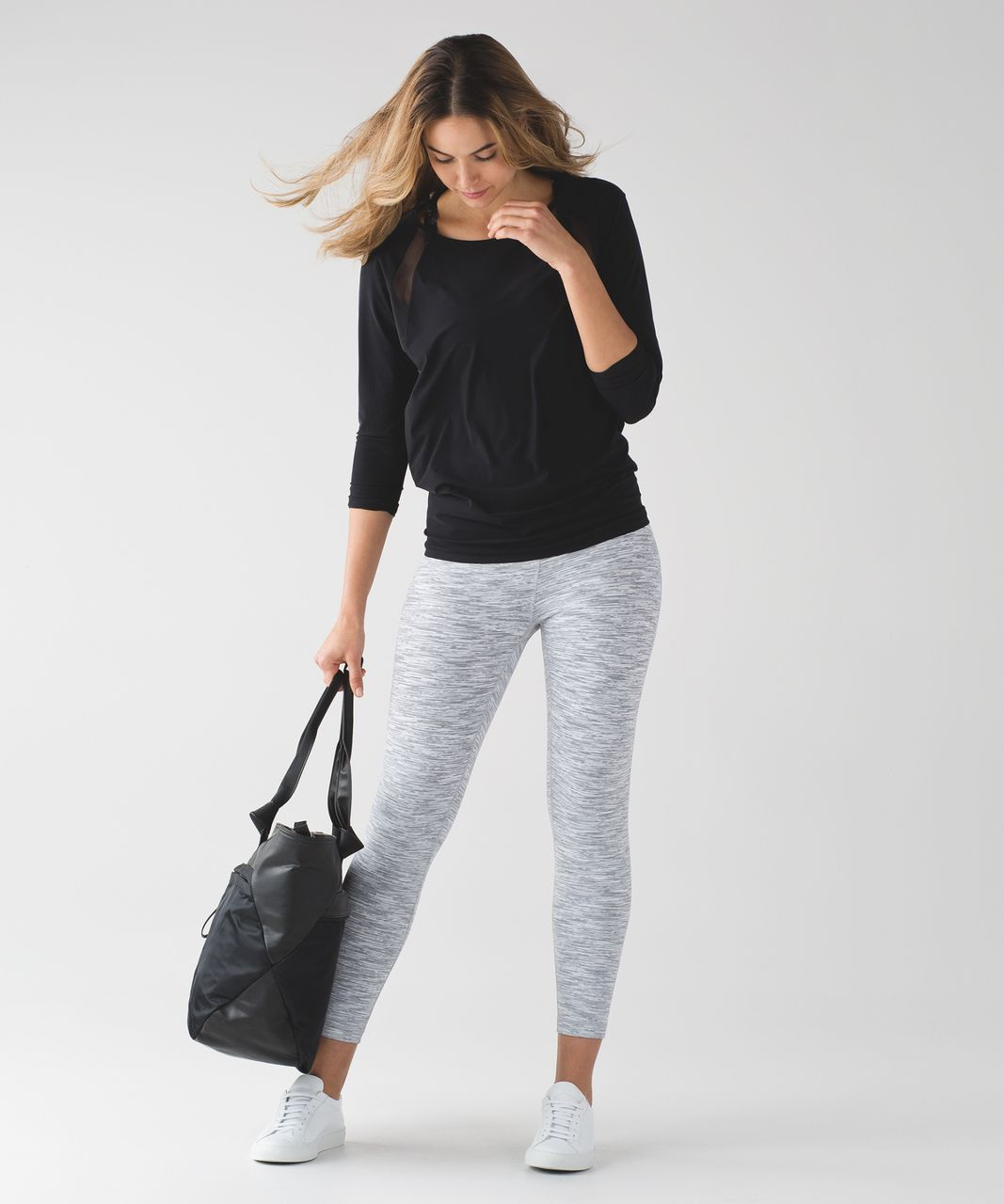 Lululemon High Times Pant - Wee Are From Space Ice Grey Alpine White