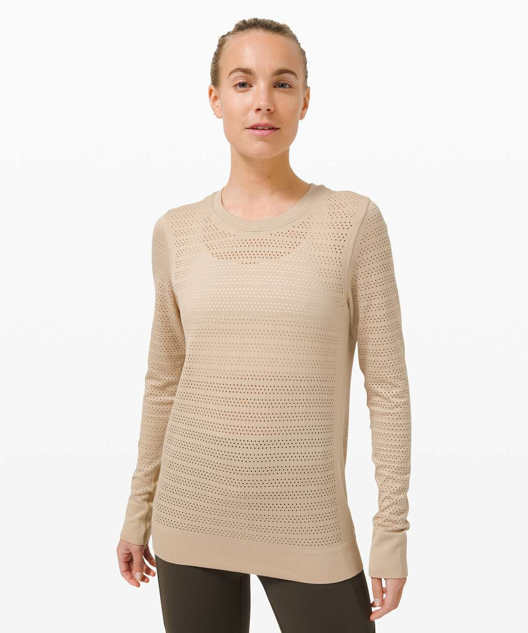 Lululemon Swiftly Breathe Long Sleeve - Trench / Trench
