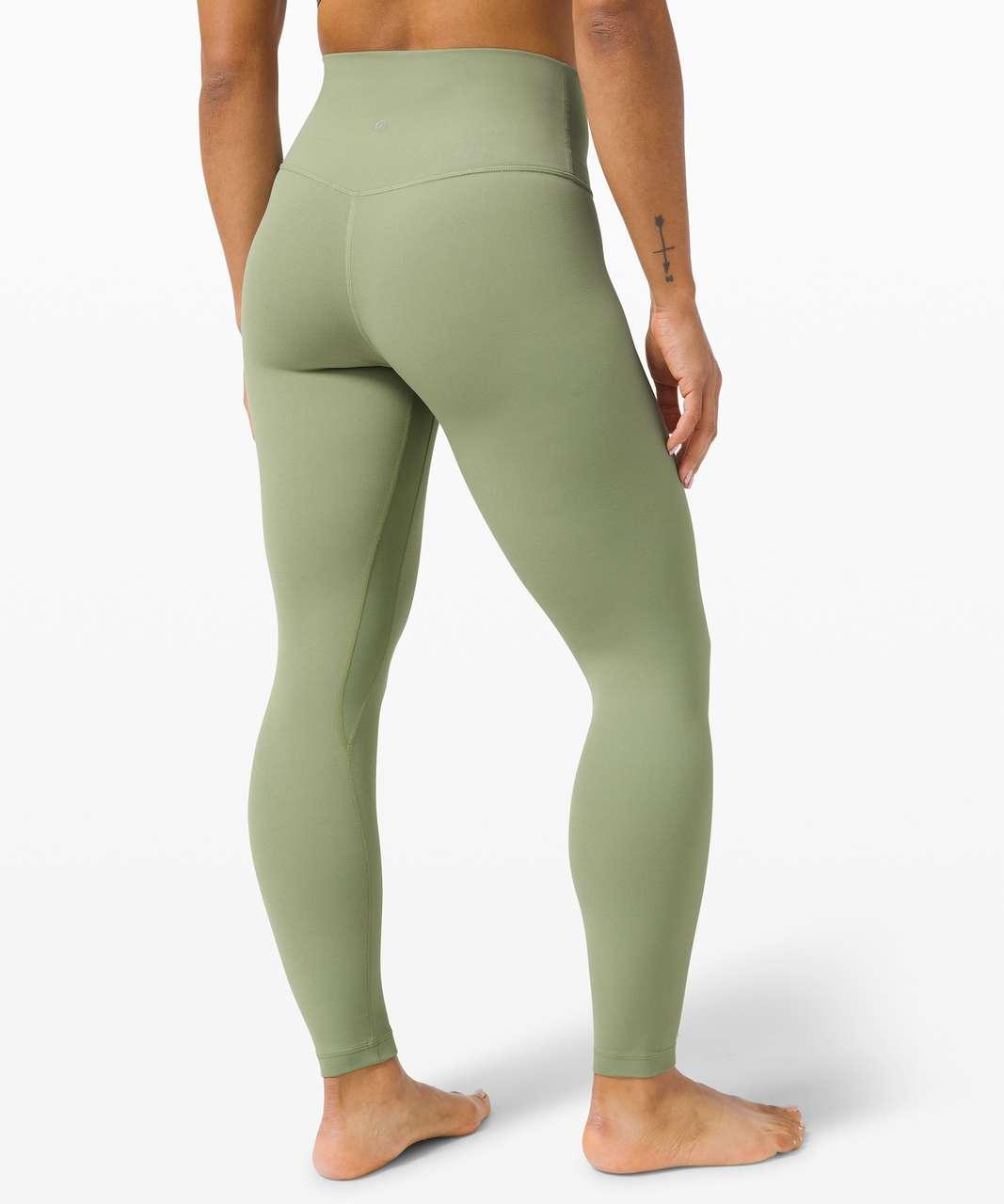 """Lululemon Align Pant 25"""" - Willow Green"""
