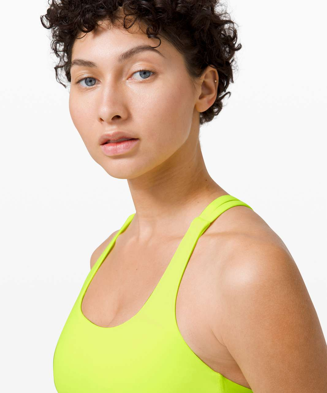 Lululemon Energy Bra - Highlight Yellow