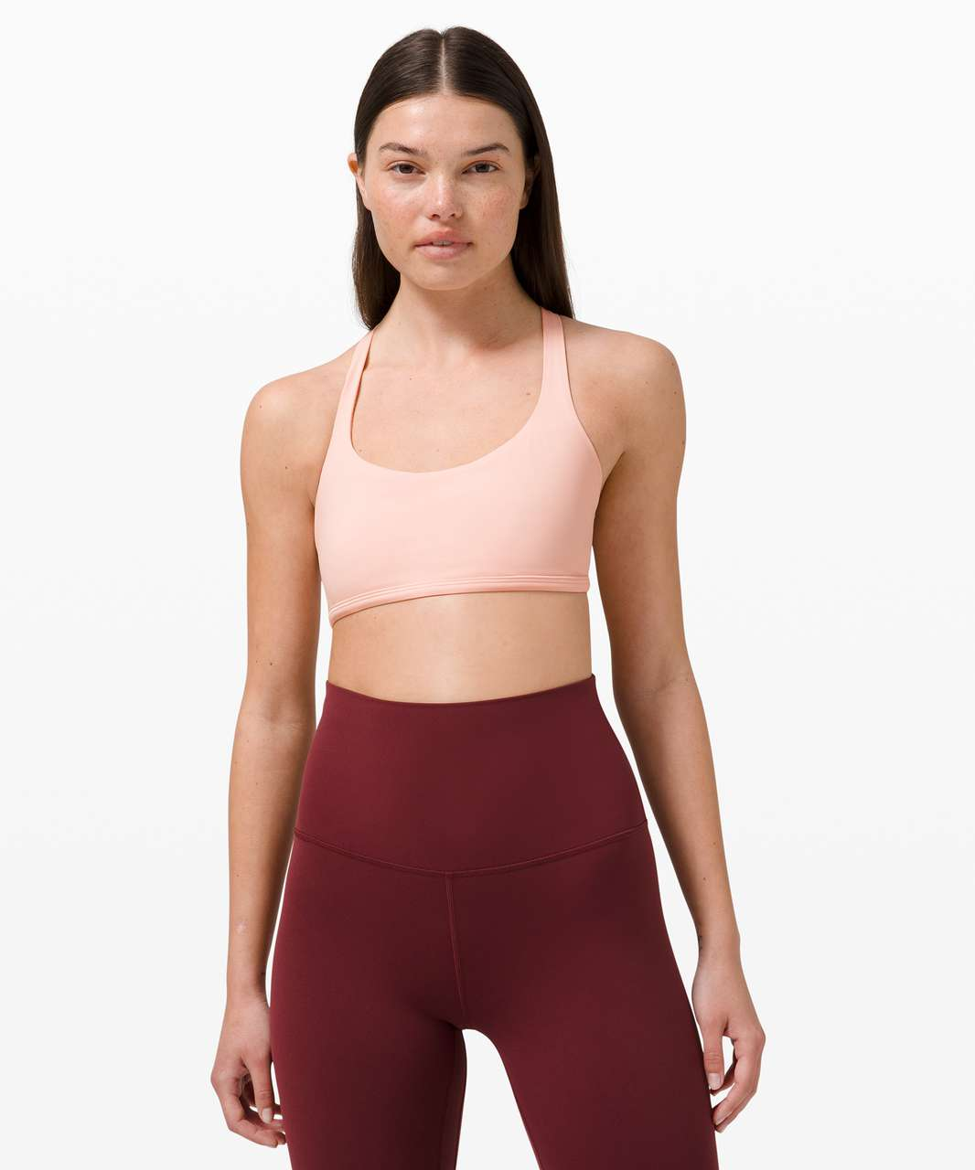 Lululemon Free To Be Bra Wild *Light Support, A/B Cup - Pink Mist
