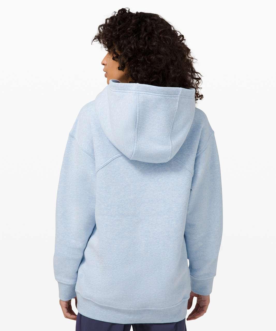 Lululemon All Yours Hoodie *Fleece - Heathered Blue Linen