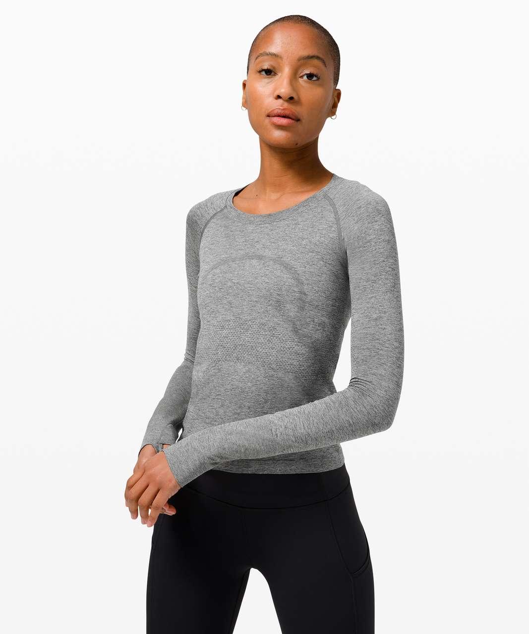 Lululemon Swiftly Tech Long Sleeve 2.0 *Race Length - Graphite Grey / Silver Drop