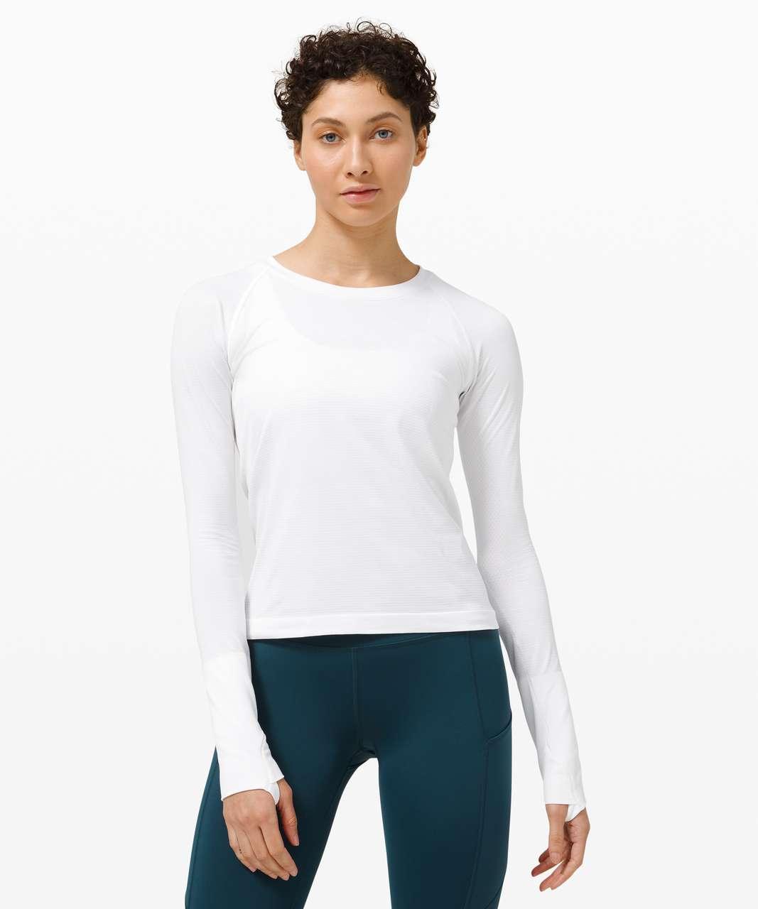 Lululemon Swiftly Tech Long Sleeve 2.0 *Race Length - White / White