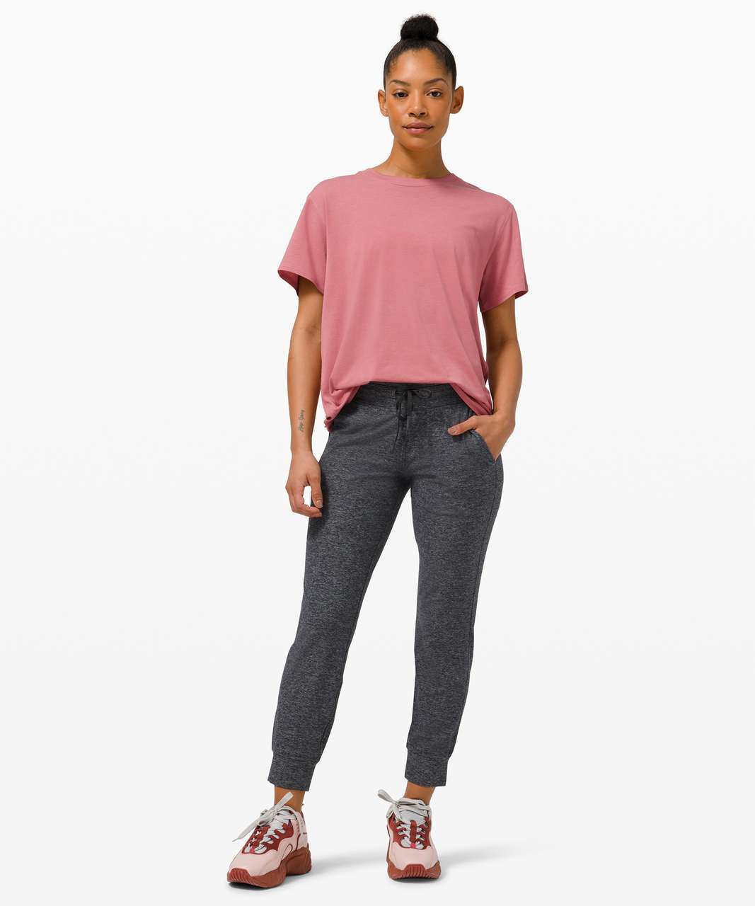 Lululemon All Yours Tee - Brier Rose