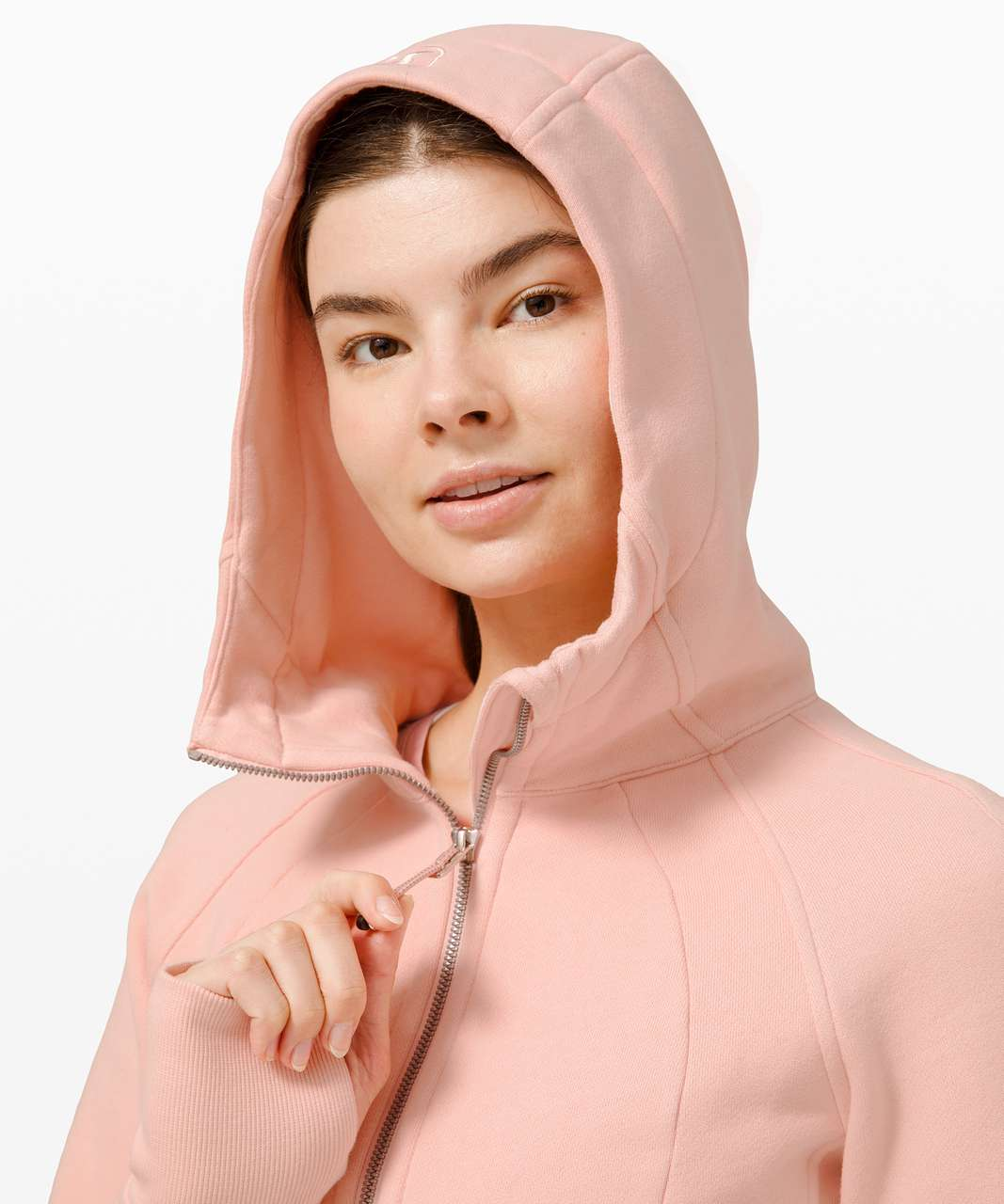 Lululemon Scuba Hoodie *Light Cotton Fleece - Pink Mist