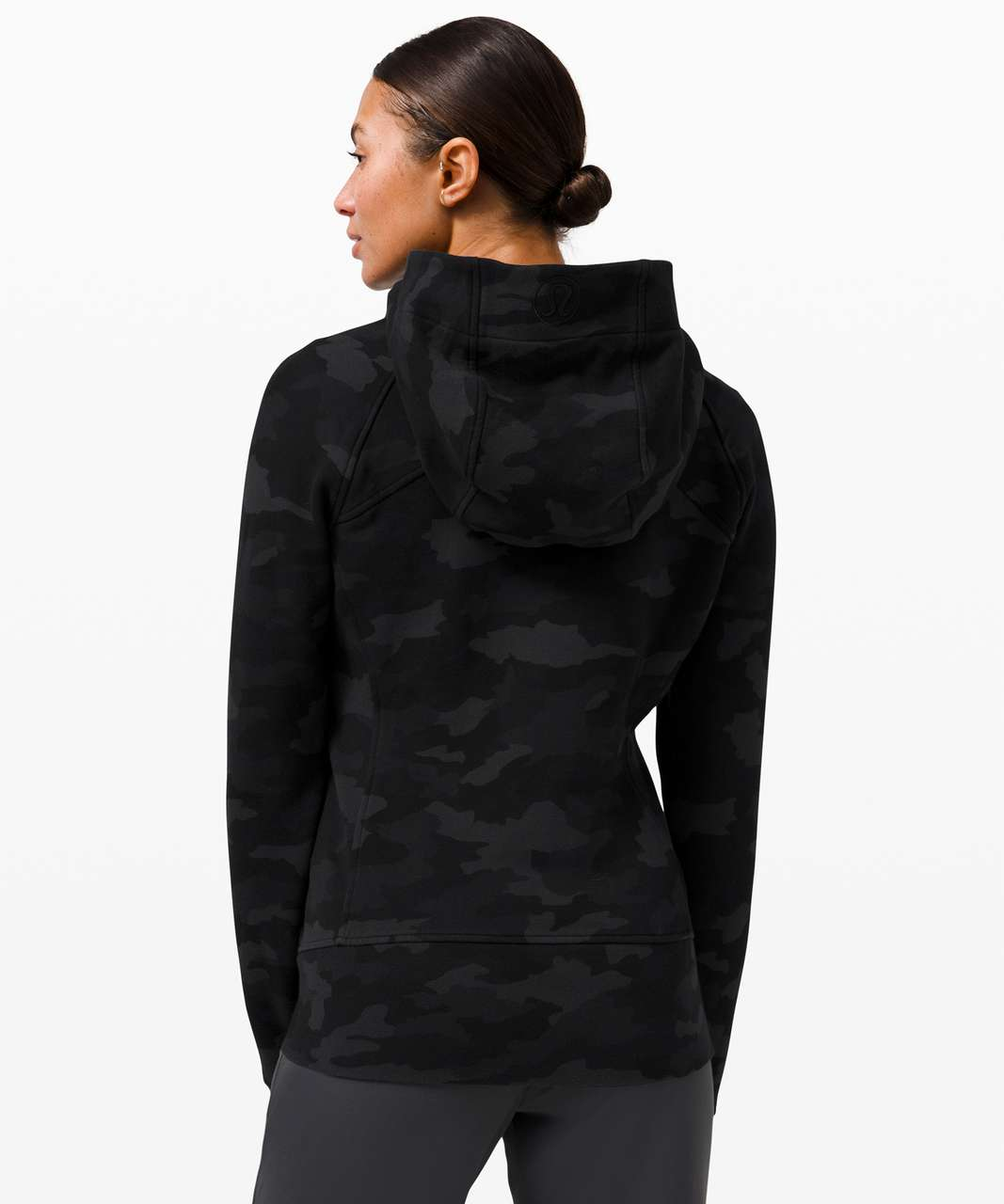 Lululemon Scuba Hoodie *Light Cotton Fleece - Heritage 365 Camo Deep Coal Multi