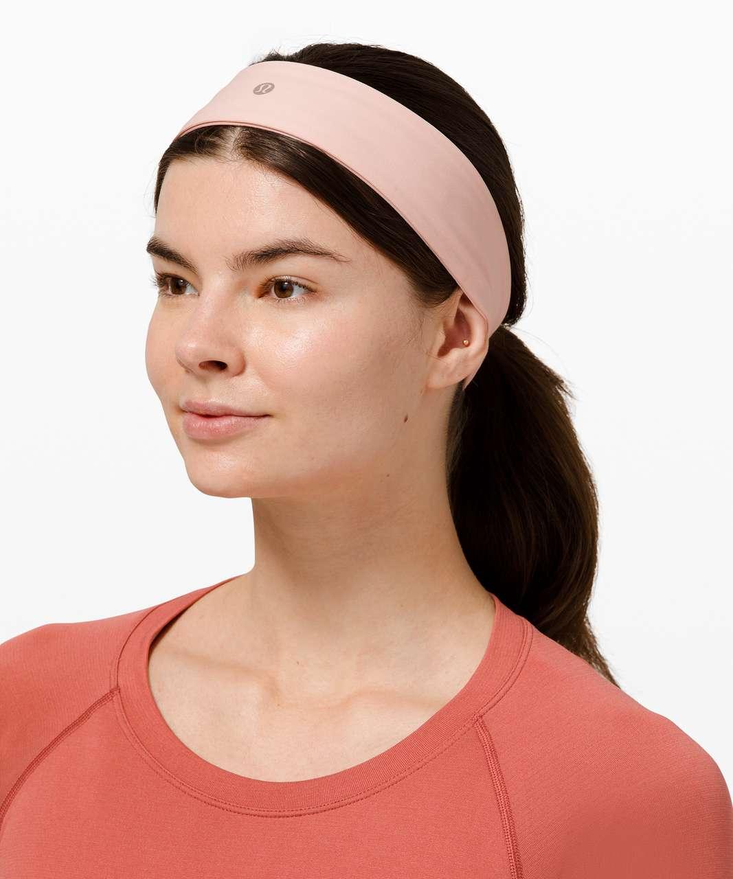 Lululemon Fly Away Tamer Headband II *Luxtreme - Pink Mist