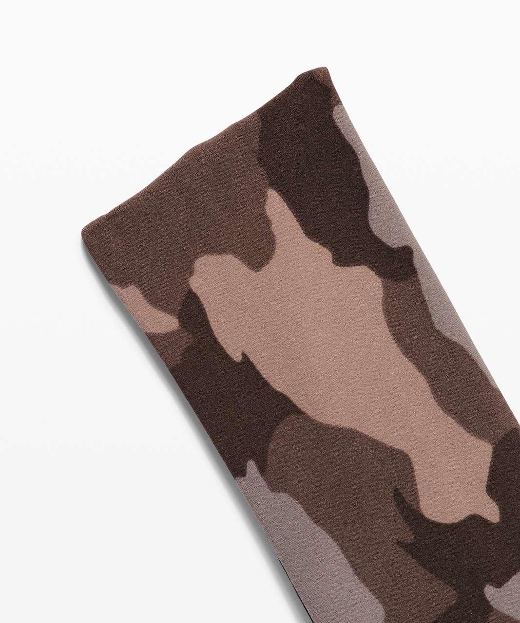 Lululemon Fringe Fighter Headband - Heritage 365 Camo Dusty Bronze Multi / Black