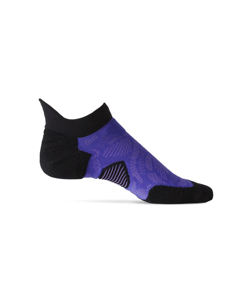 Lululemon High Speed Sock (Silver) - Super Purple / Power Purple / Black