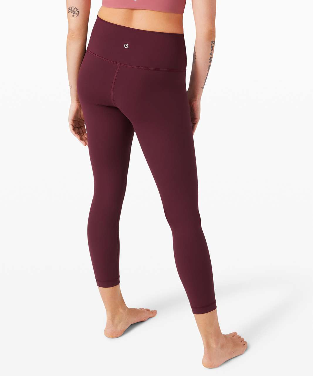 """Lululemon Wunder Under High-Rise Tight 25"""" *Full-On Luxtreme - Cassis"""