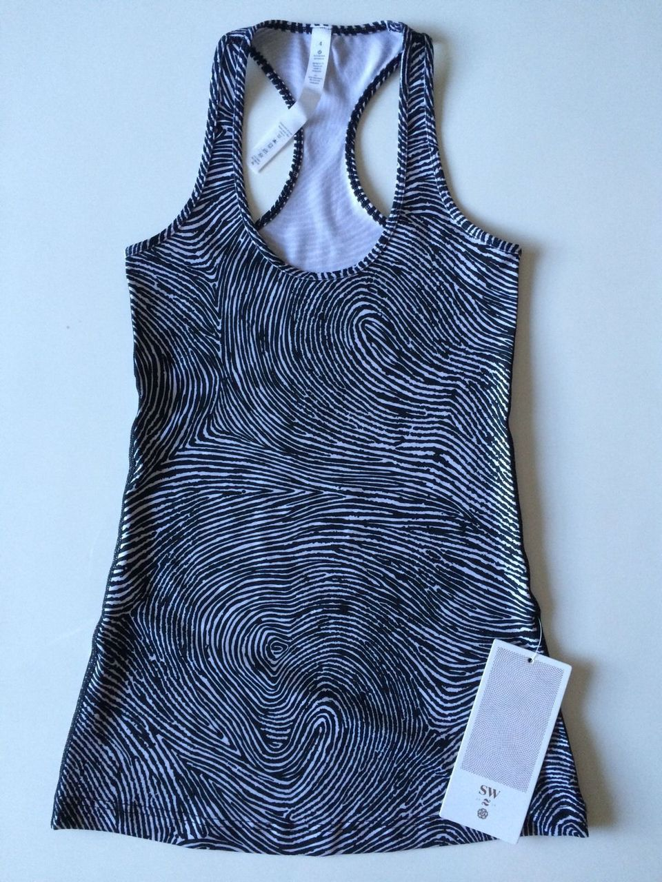 Lululemon Cool Racerback - 2016 Seawheeze - Who Done It Black