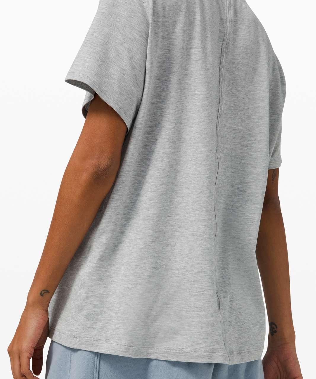 Lululemon All Yours Tee - Heathered Core Light Grey