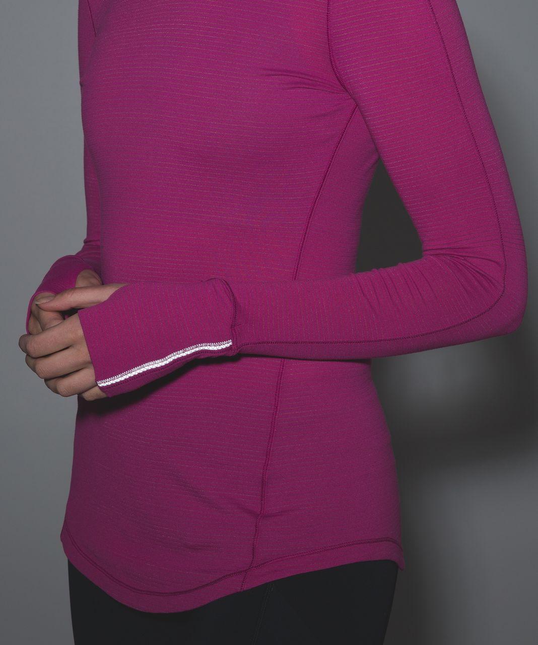 Lululemon 5 Mile Long Sleeve - Raspberry