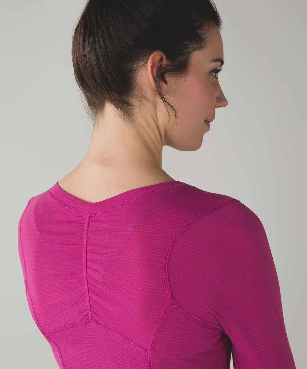 Lululemon 5 Mile Long Sleeve - Raspberry